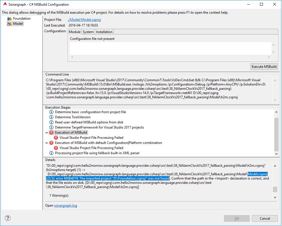 6 3 5  C# MSBuild Configuration
